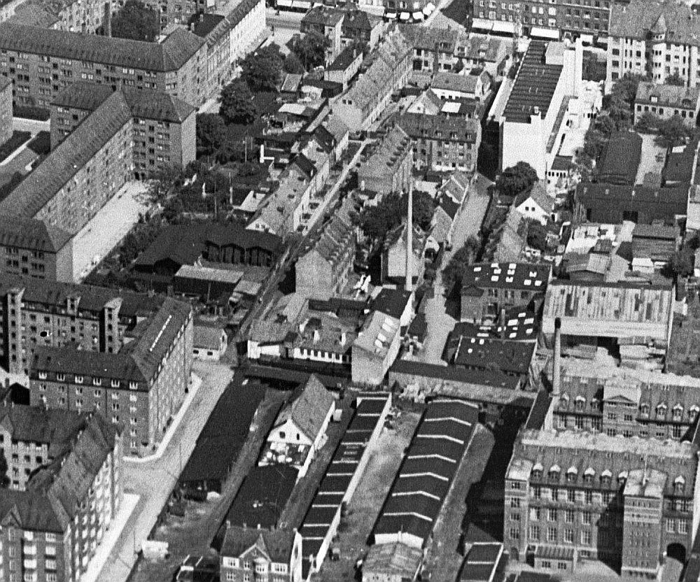 1936 samme område zoomet ud med plads til flere gader