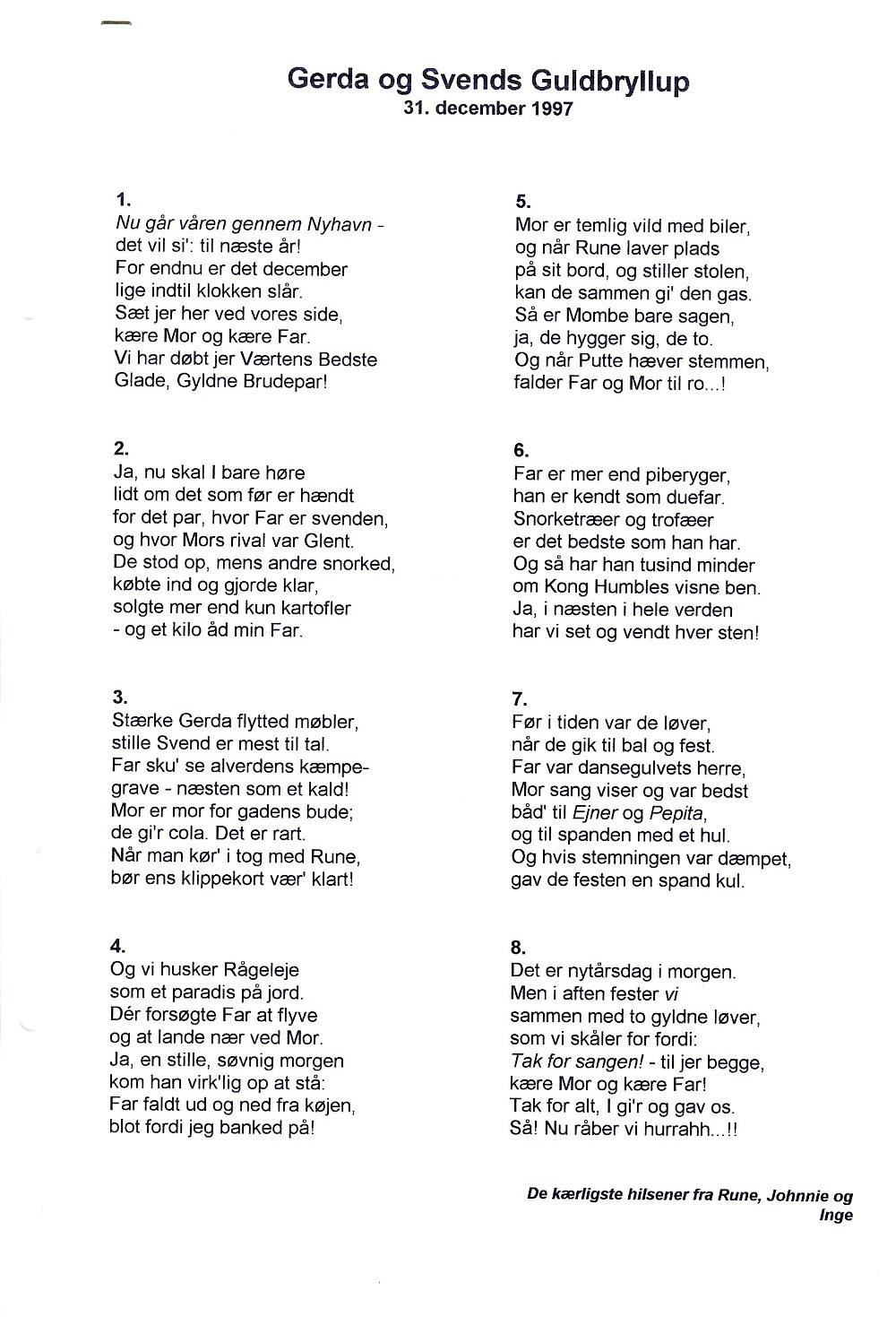 sang til studenterfest